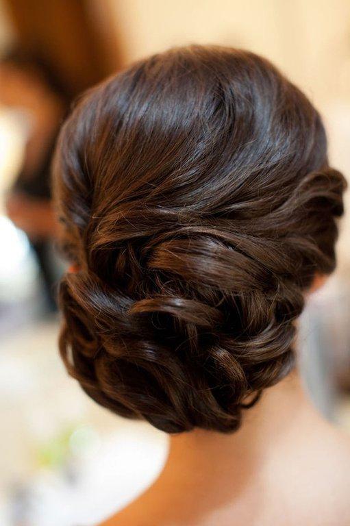 прически с накладкой на длинные волосы