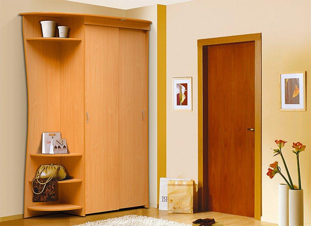 Прихожая-купе визит-1 (в) вишня / прихожие / каталог мебели.